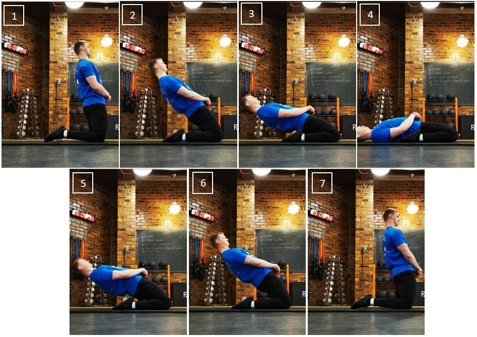 Reverse Nordic Curl sequence